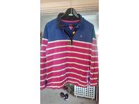 Joules sweat top size 18