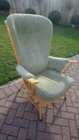 An Ercol 913 chair