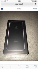 Bnib Apple iPhone 7 128gb