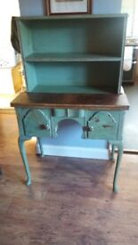 Lovely upcycled victorian writing desk