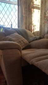 Second hand one seater recliner