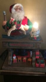 Father Xmas Toymaker, animated