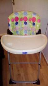 Hi chair in very good condition
