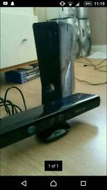Xbox 360 4gb silm with Kinect