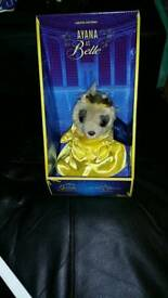 Limited edition meerkat ayana as belle