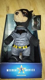 Limited edition. Batman Meerkat, with certificates with original packaging