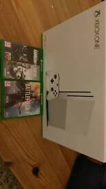 Xbox one s 2TB console with two games