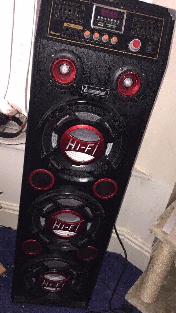 Steepletone speaker