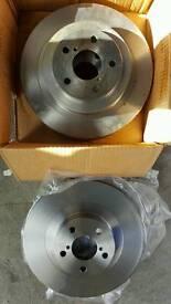 Subaru impreza discs and pads
