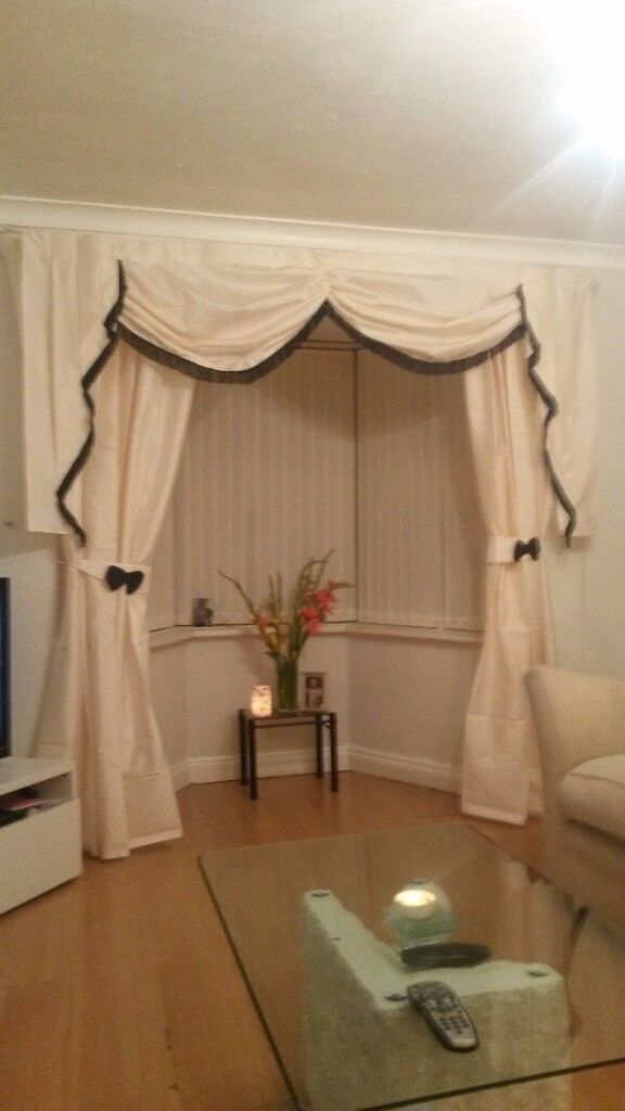 curtains swags tails and tie backs
