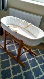 Baby Moses stand with basket