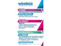 Wireless Tickets, For Saturday and Sunday! 2X