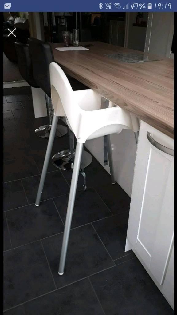 Ikea High Chair Breakfast Bar Height