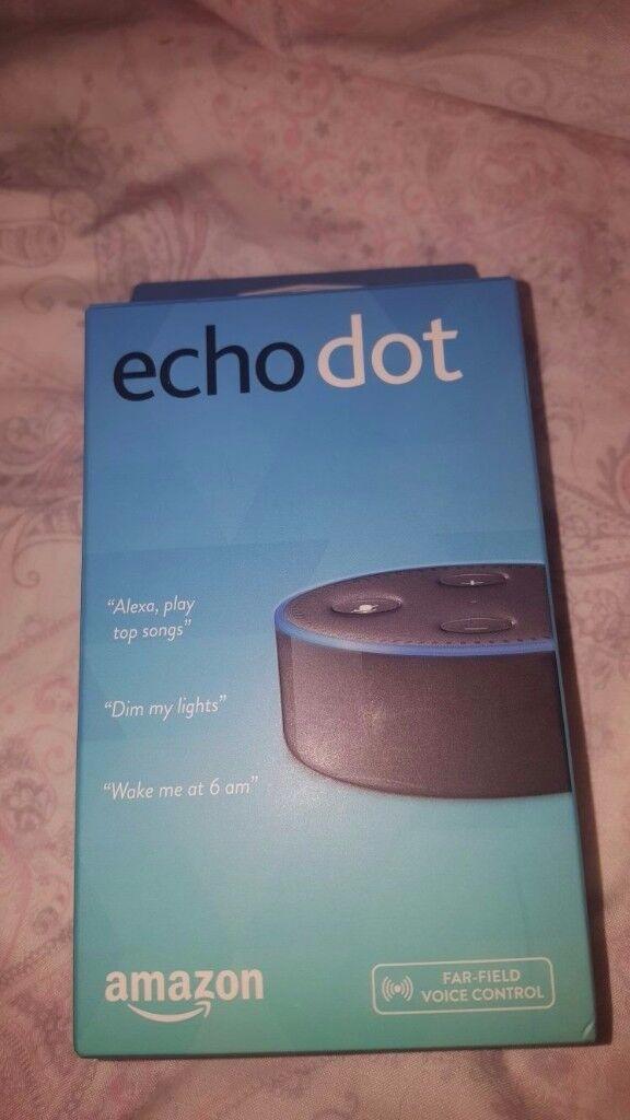 Amazon echo dot (with remote)