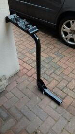 Bike rack for a removal tow bar
