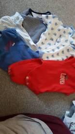 Up 1 month baby vest
