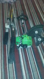 petrol trimmers multi tools 4 in 1 florabest ready to use