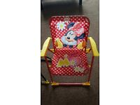 Kids chairs-Minnie Mouse and Sam