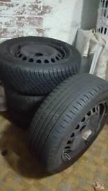 Vw golf tdi 15 inch tyres wheels