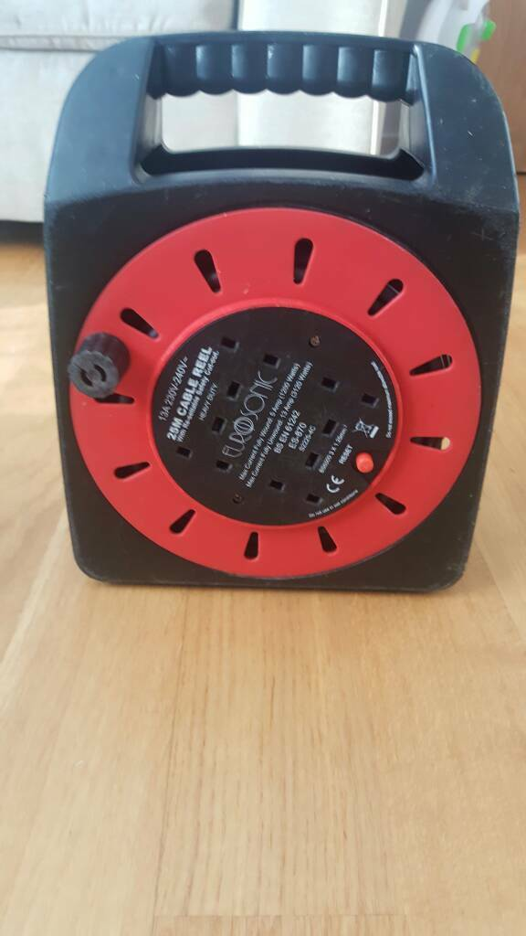 Eurosonic 25m cable reel