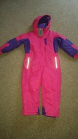 Age 5-6 years Alpine Snowsuit