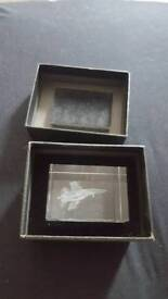 Crystal Fighter jet Collectable