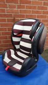 Hi for sale cossatio car seat in very good condition! Recliner , sizw 18-36kg can deliver