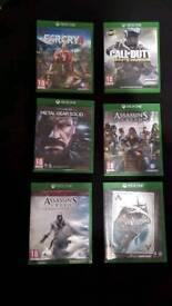 Xbox one 6 game bundle