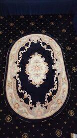 Blue colour rug