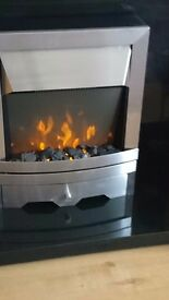 Freestanding electric fire
