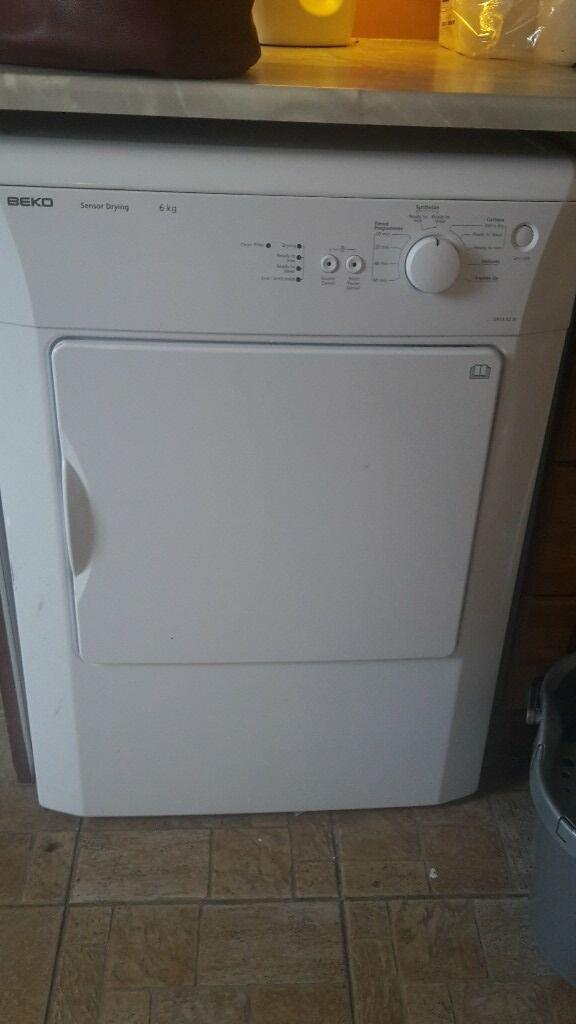 beco tumble dryer white