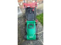 qualcast lawnmower electric with grass box. hardly used. £45.00