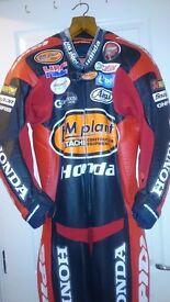 Motor bike leathers