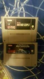 2 SNES games all working £7 each or swap