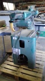 3phase cross cut bench saw with stand needs starter £350.00