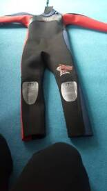 Winter wet suit