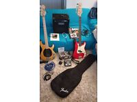 Bass Guitars Bundle (With AMP, Multi-Effects Peddle and Extras) EXCELLENT CONDITION