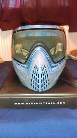 Dye Invision I4 Paintball/Airsoft Mask - Used £75 ono.