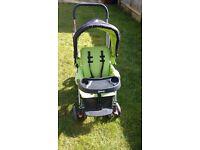 Joovy caboose double seat stroller
