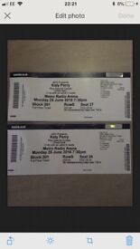 2 Katy Perry seated tickets