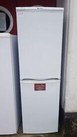 lovely Hotpoint tall fridge freezer for sale