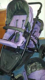 BRITAX B-dual double pushchair