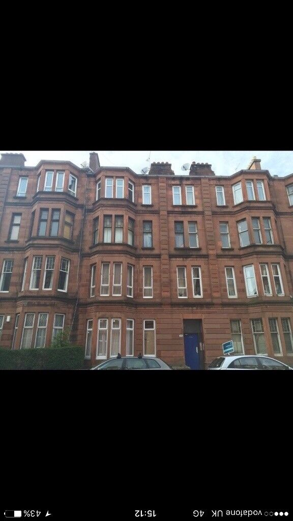 Lovely Bright Flat for Rent in IBROX. £545 Per Month