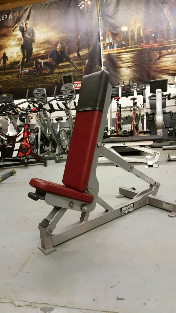 Hammer Strength Adjustable Bench Multi Adjustable