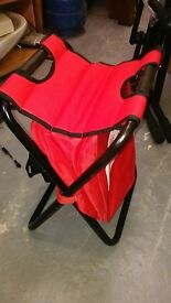 Collapsible Fold Up Chair - Royal Canin camping fishing