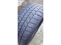 2 x continental winter tyres 225/45 r17