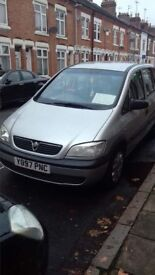 Vauxhall Zafira 1.6 petrol perfect condition