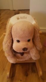 Preloved baby weaver rocking dog