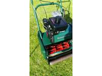 """Atco 14"""" cylinder mower very good condition Kawasaki Engine with Scarifier"""