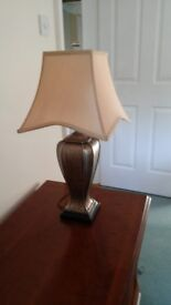 One pair of table lamps